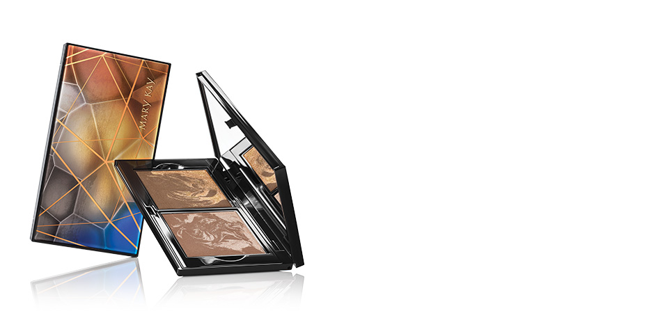 Limited-Edition† Beauty Unearthed Mary Kay Perfect PaletteTM and Limited-Edition† Mary Kay® Illuminating Bronzer* in Copper Glow and Gilded Glow
