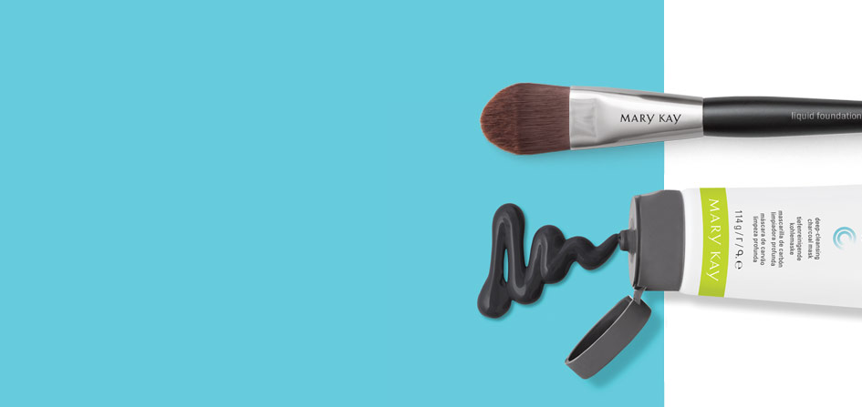Clear Proof® Deep-Cleansing Charcoal Mask and Liquid Foundation Brush