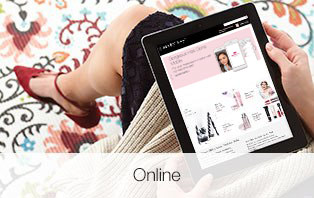 Mary Kay website is open on an Apple iPad.