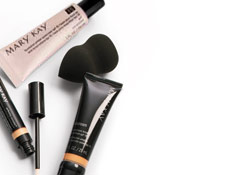 CC Cream, Perfecting Concealer, Blending Sponge and Foundation Primer Sunscreen SPF 15.