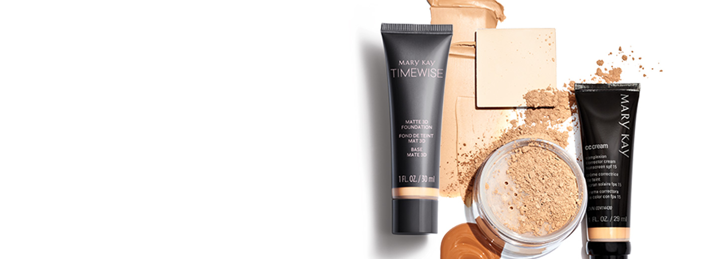 Find your perfect foundation match from Mary Kay here.