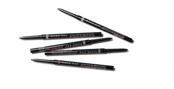 Five Mary Kay Precision Brow Liners without caps.